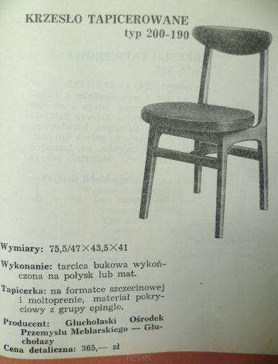Rajmund Teofil Hałas - Krzesło Typ 200-190