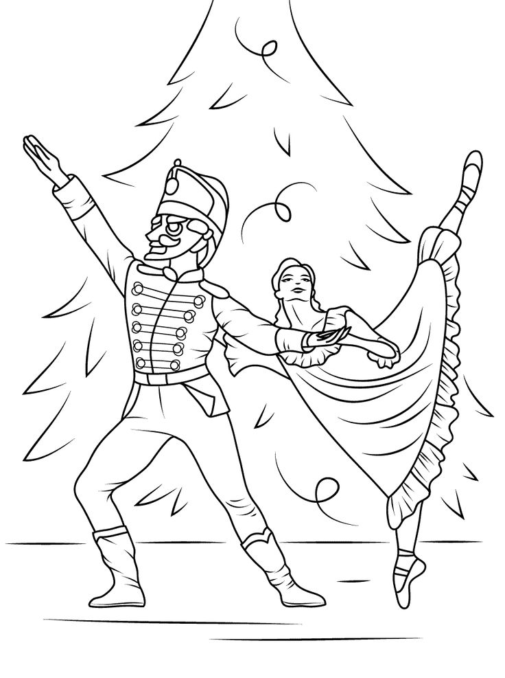 ballet coloring pages for adults - photo#17