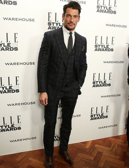 I am not really a fan of male models but for David Gandy I will make an exception!