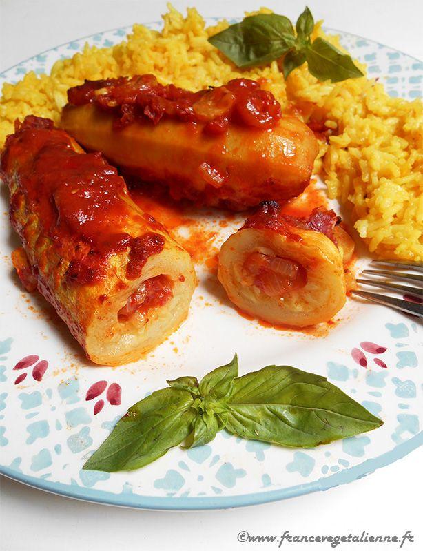 Cannelloni de courgettes (recette végane)