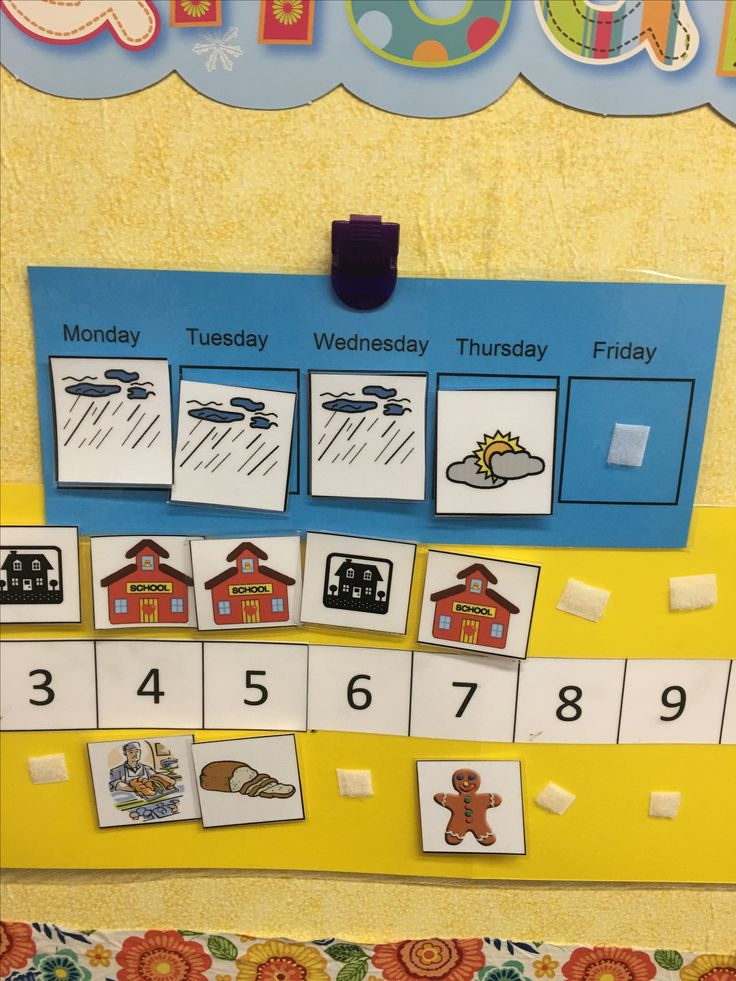 Linear Calendar Preschool : Best posts images on pinterest classroom bulletin