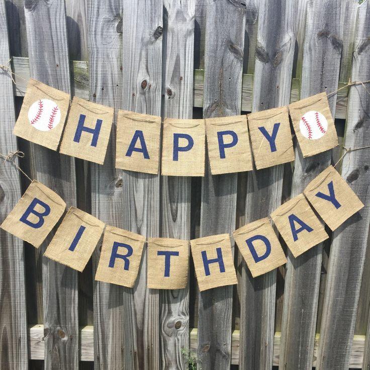 Best 25+ Burlap Birthday Banners Ideas Only On Pinterest