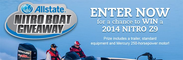 The Allstate Nitro Boat Giveaway