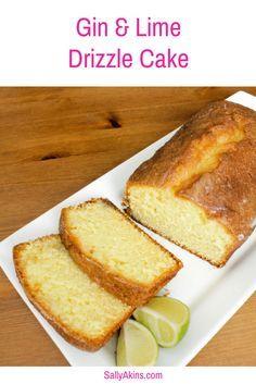 This Gin and Lime Drizzle Cake is a very grown up twist on the family favourite. I add a splash of Gin into the syrup to give it a little kick, and lime zest goes into the cake batter. It's delicious, and definitely not one for the kids! Click through for