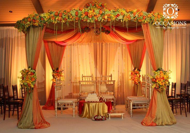 Indian Wedding Mandaps   Event Decorators : Occasions By Shangri-la