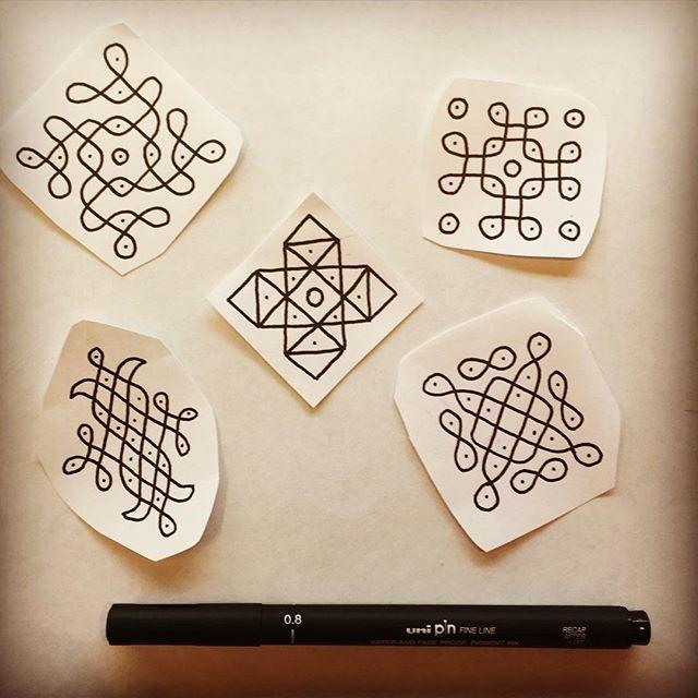 I would love to tattoo some of these designs. ⛵️☕️ #flash #tattooflash #tattoo #tattoos #handpoke #handpoked #sticknpoke #stickandpoke #machinefree #diwali #pattern #black #ink #instagram #tattoodesign #tattooidea #vsco #vscocam #brighton #brightontattoo #uk #2016