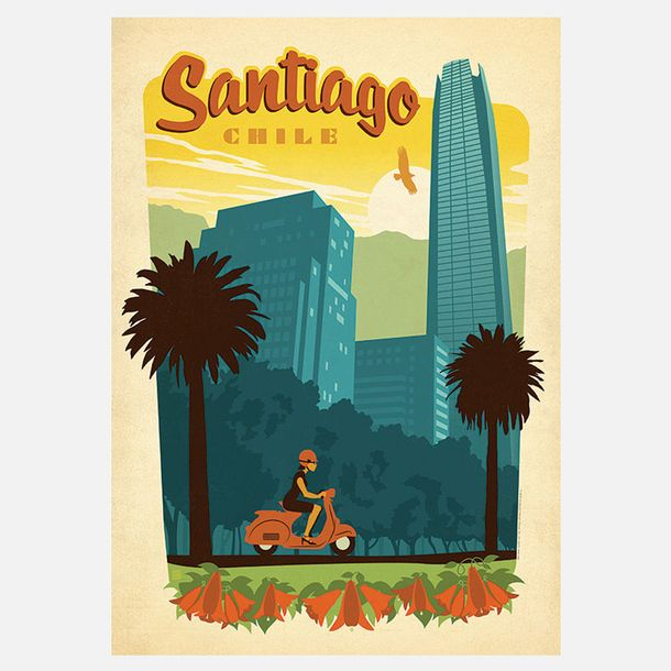 Santiago Print by Anderson Design Group