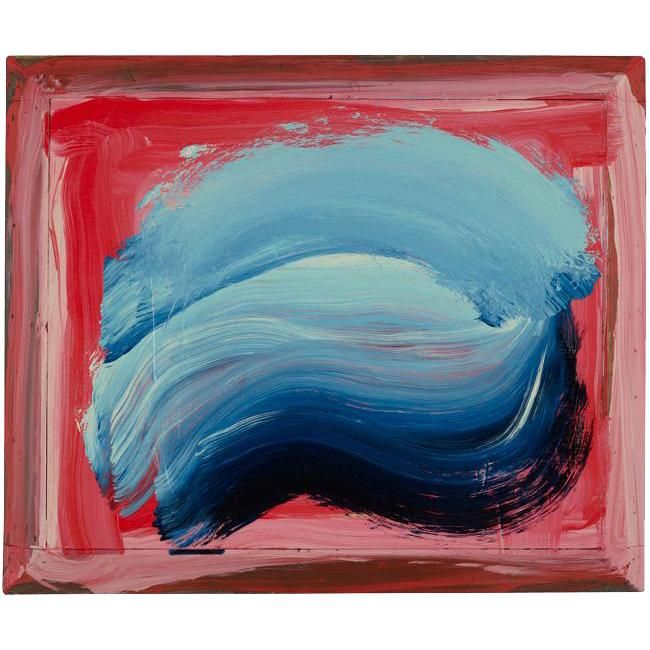 """Got to see Howard Hodgkin's """"Ice"""" at the Gagosian Gallery in 2011 and fell in love with his work..."""