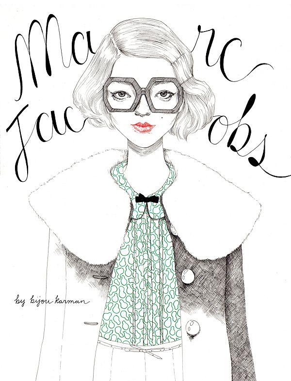 Marc Jacobs by Bijou Karman
