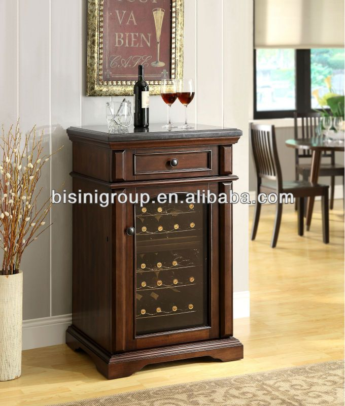Bisini Mini Wooden Electric Wine Refrigerator (bf09-42033) - Buy Marble Top Mini  Fridge Hotel Fridge/ Refrigerator,Under Cabinet Wine Refrigerator