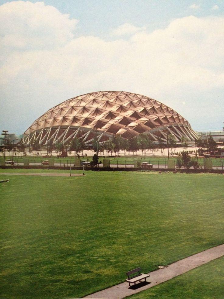 Palacio de los Deportes, Mexico CIty 1968  Arq. Félix Candela