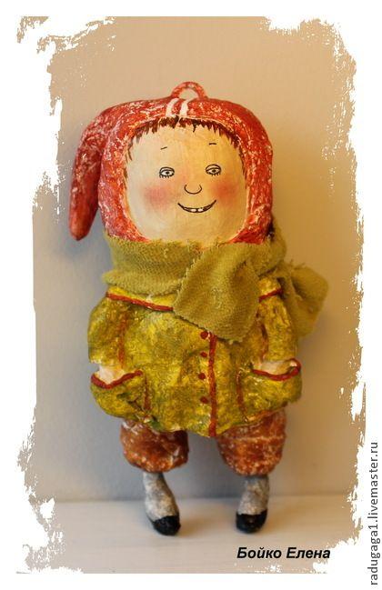 Дети 60-х - салатовый,коллекционные игрушки,авторская ручная работа,Дети-цветы жизни