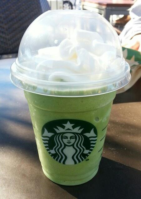 Starbucks green tea