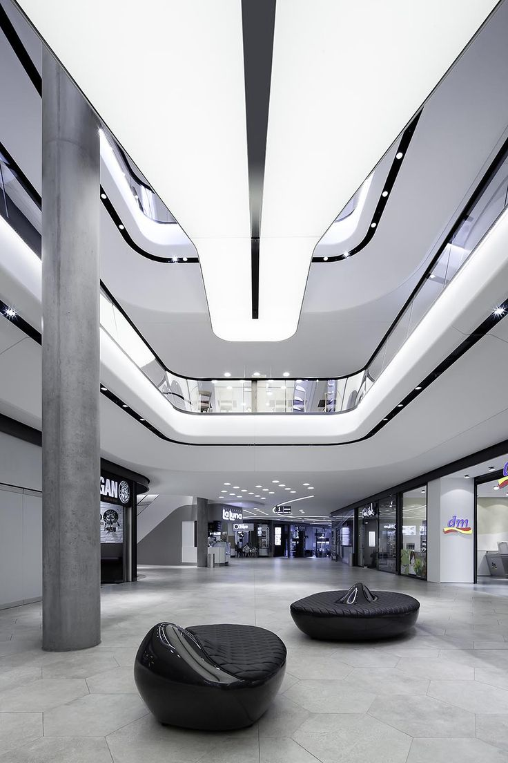 Das GERBER Stuttgart - Shopping mall Interior design: Ippolito Fleitz Group; www.ifgroup.org