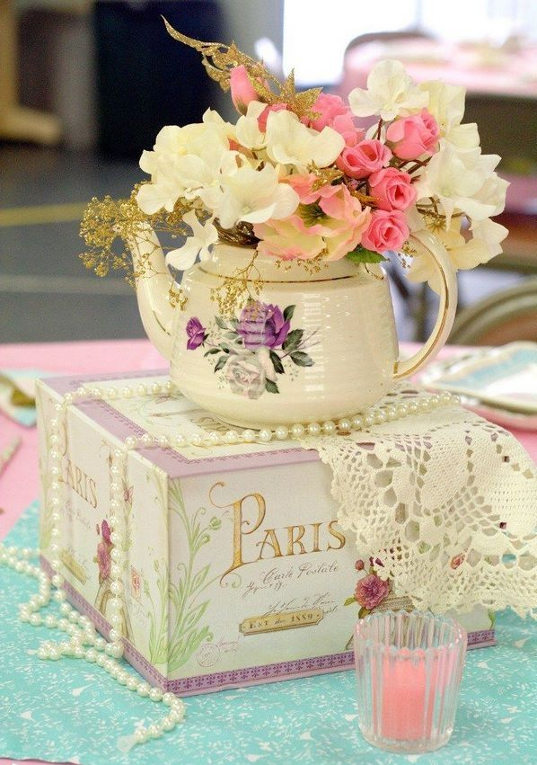 214 best bridal shower ideas images on pinterest brides for Victorian tea party supplies
