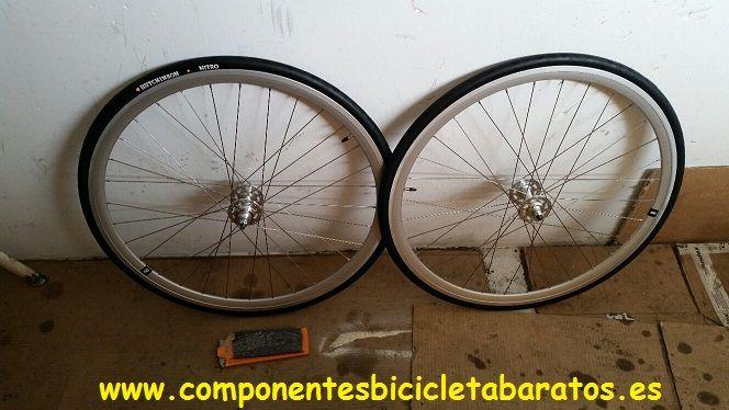 LLantas Weinmann DP18 ideal para transformar carretera en fixie. Propiedad de Componentes Bicicleta Baratos en Zaragoza