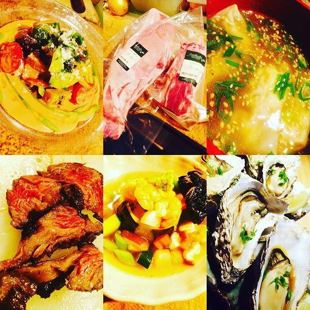 ブラッスリーピガール&六畳間❗️ 本日のラインナップ❗️ フランス産仔羊首肉❗️天然クエのワンタン❗️ 石巻の牡蠣❗️アスパラソバージュ❗️ などなど間もなくオープンでーす❗️ #野毛#肉#ステーキ#蟹#グラタン#横浜 #野菜料理 #ワイン#仔羊#フレンチ#和食