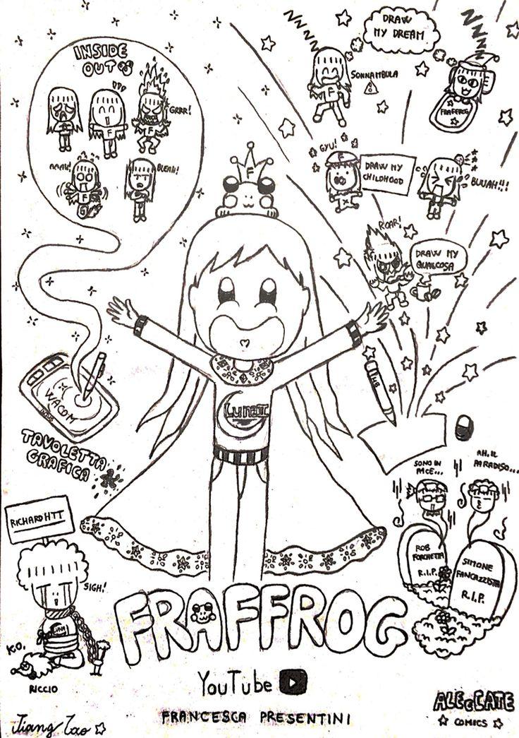 Fraffrog - youtuber artist