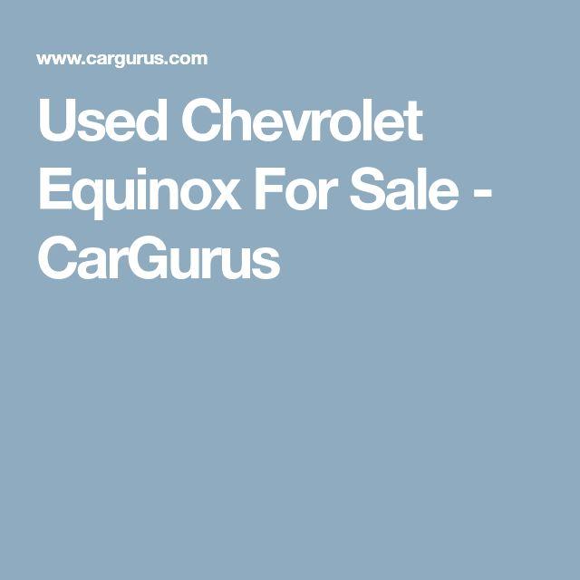 Used Chevrolet Equinox For Sale - CarGurus