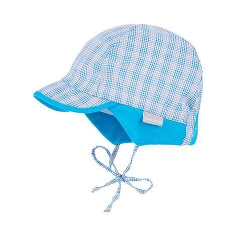 Mütze mit Schild Karo