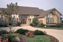 Contemporary Style House Plan - 3 Beds 2 Baths 5400 Sq/Ft Plan #72-788 - Dreamhomesource.com