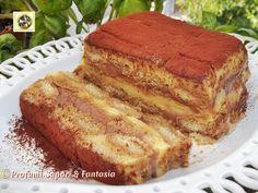 Tiramisù con crema pasticcera e Nutella  Blog Profumi Sapori & Fantasia