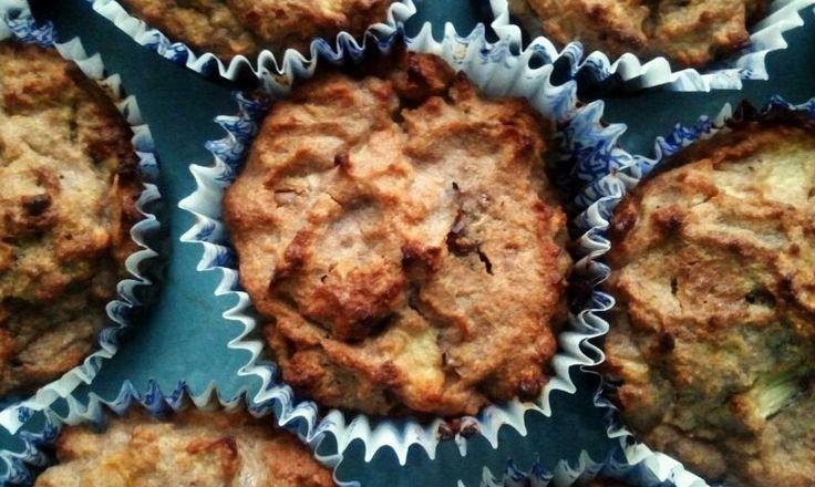 Jablkovo mrkvové muffiny