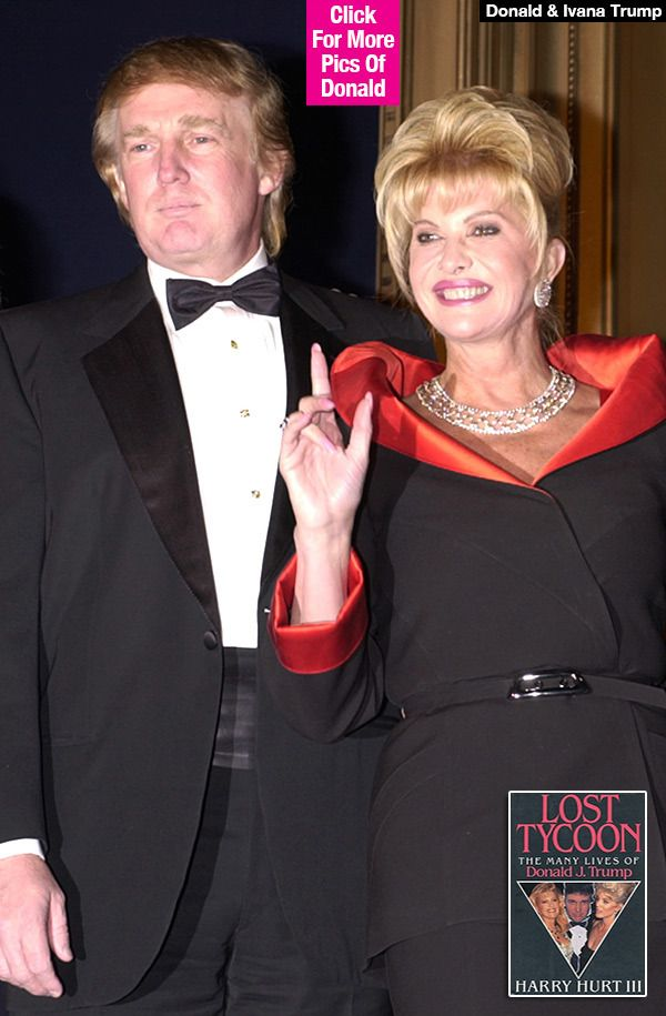 Donald Trump Accused Of Sexually Violating First Wife Ivana Trump