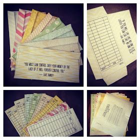 Like Playing House: Envelope System with Printable Envelopes