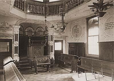 Conegliano synagogue before WWII, in Italian location