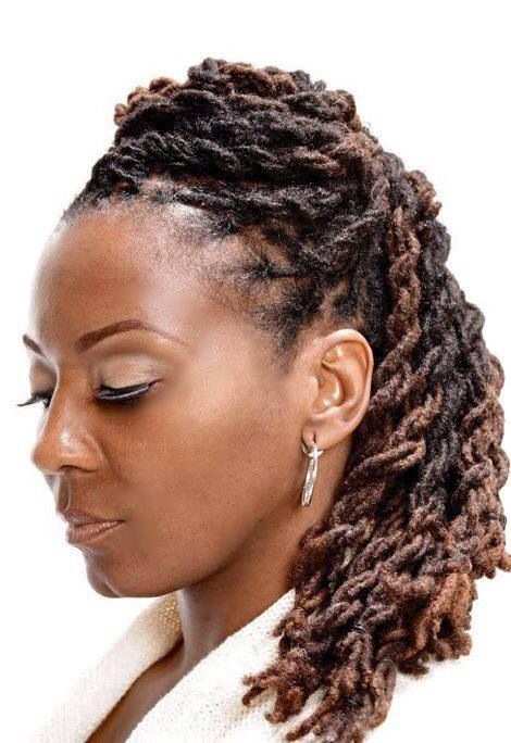 Locs Hairstyles for Women on Pinterest | Locs, Dreadlocks and Dreads