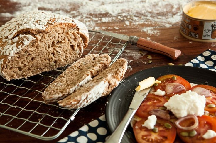 100% Pšeničný kváskový chléb