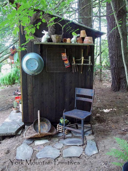 Garden Sheds York 68 best primitive garden sheds images on pinterest | potting sheds