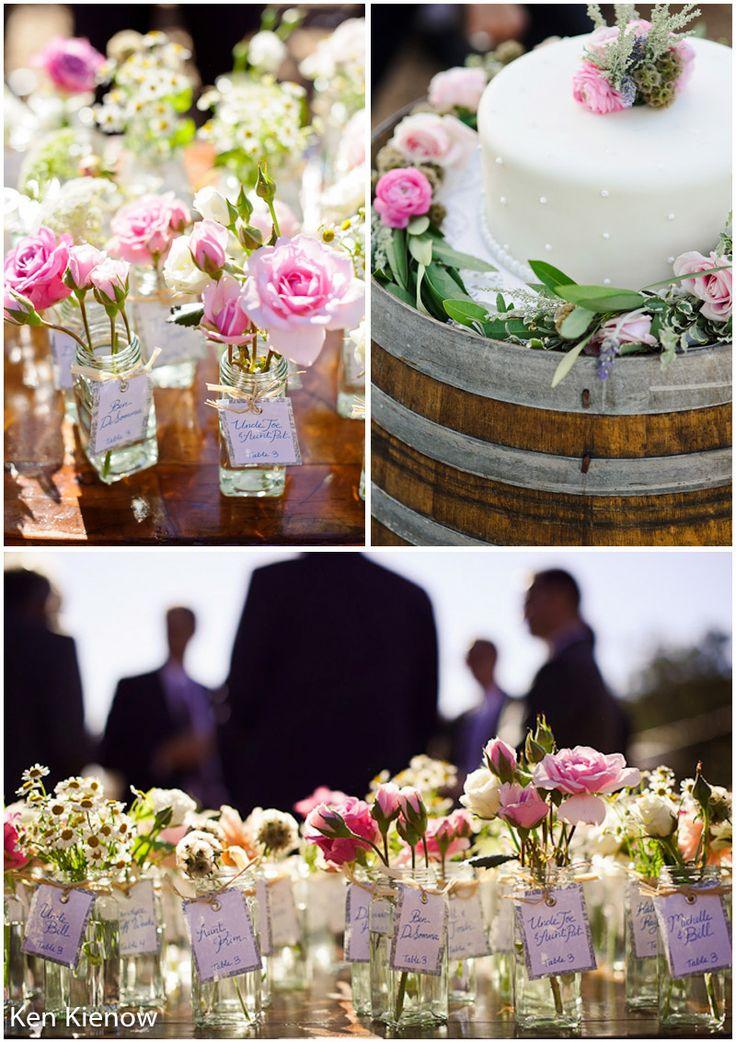 Gainey Vineyard Wedding by Ken Kienow (via The Santa Barbara Wedding Standard Inspiration Blog)