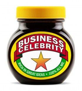 Business Celebrity Marmite