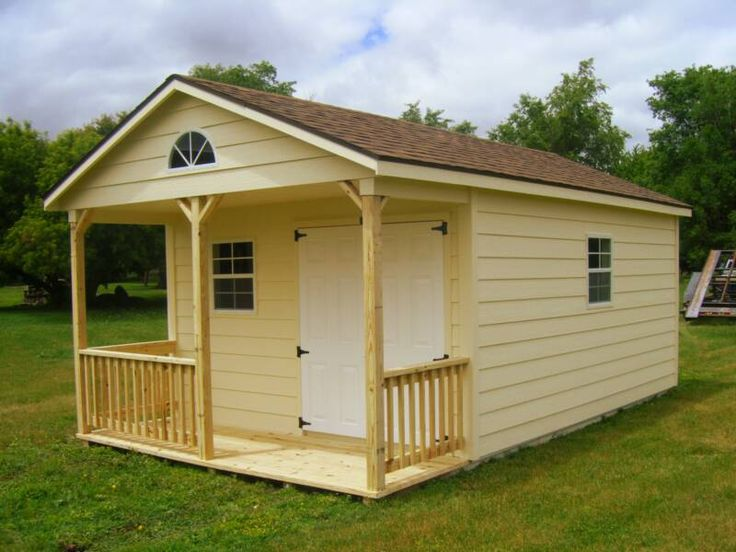 STORAGE BUILDING PLANS | My Shed Plans – How to Construct Wood Storage Buildings | Cool Shed ...