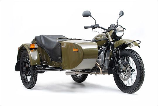 Ural Patrol T 2WD Motorcycle with Sidecar passed one of these while i was riding today how refreshing not to see another cruiser