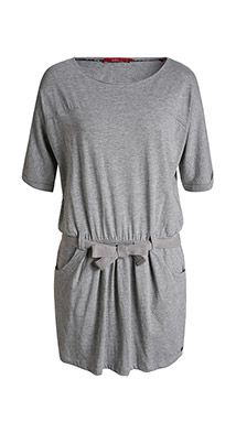 light jersey dress with belt
