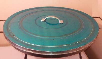 Tapa para Disco Asado de 61 cm diámetro   www.losparrilleros.cl