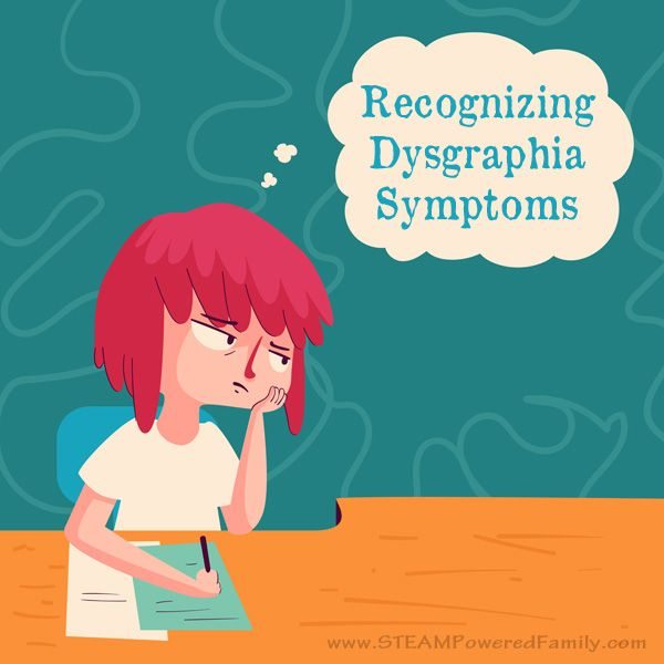 Recognizing dysgraphia symptoms for parents and educators.