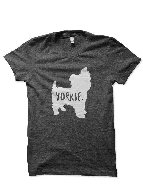 The Fur & Collar Yorkie T-shirt is a great way to show off your love for your best little buddy. Fur & Collar t-shirts are extremely soft, semi-fitted, and pre-shrunk. View our sizing chart to make su