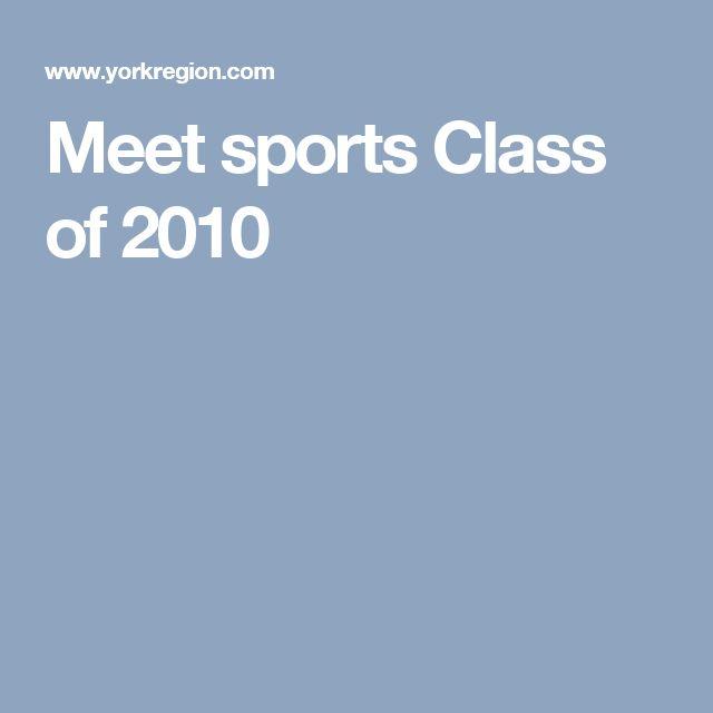 Meet sports Class of 2010