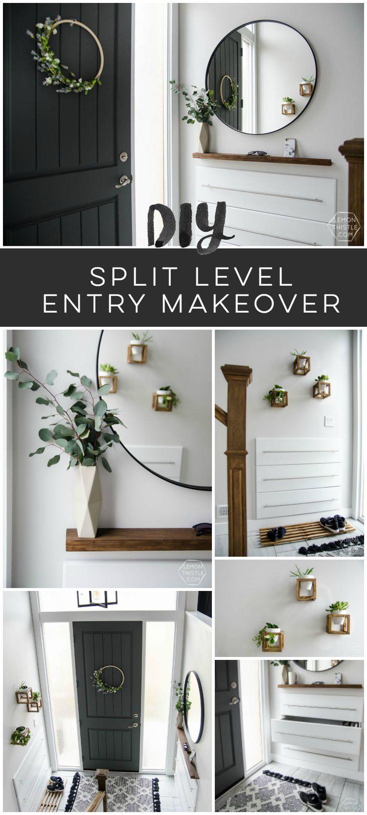 Split Foyer Home Makeover : Best home entry office images on pinterest