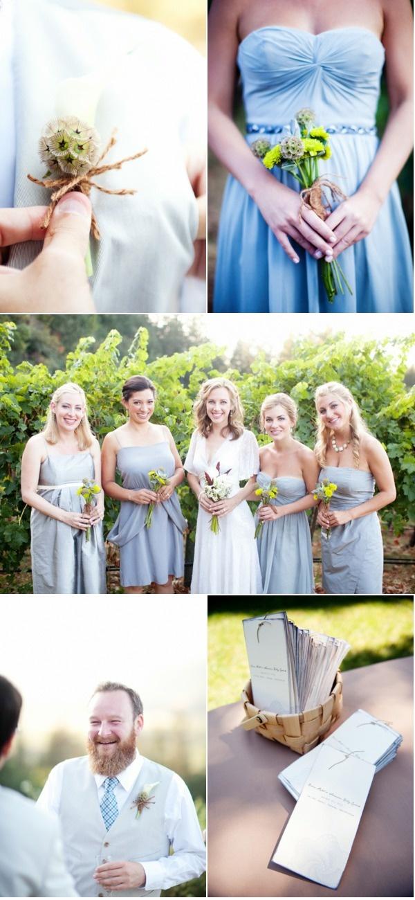 different gray dresses