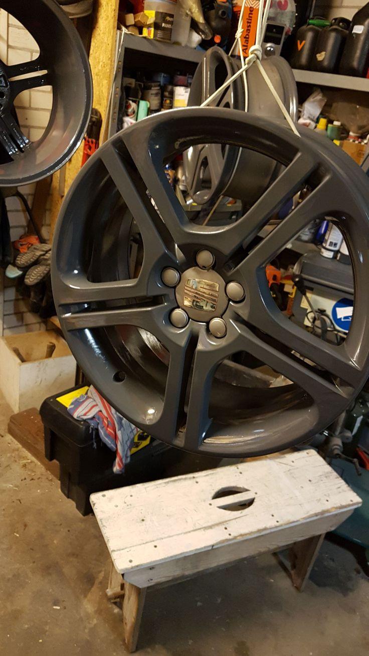 17 inch ibiza FR wheels, freshly painted