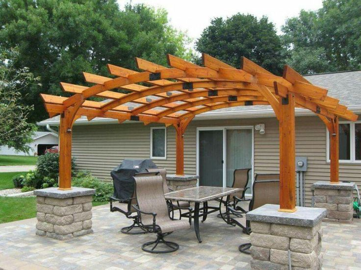 Extrêmement 308 best pergola images on Pinterest | Shade structure, Biomimicry  HH57