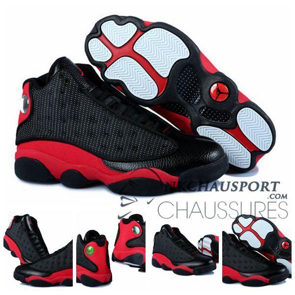Nike Air Jordan 13   Classique Chaussure De Basket Homme Cuir Noir-3    Jordan   Jordans, Air jordans, Nike air jordans 8cd99099f5b3