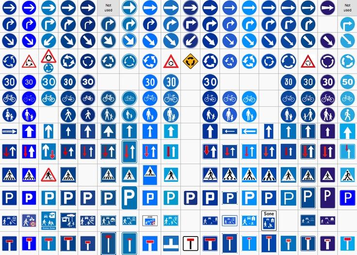 Comparison of European road signs - Wikipedia, the free encyclopedia / via @Chris Heathcote