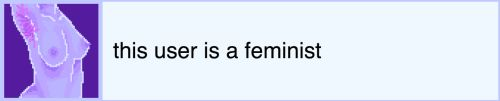 And there is never anything wrong with being a feminist