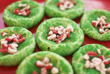 Christmas Treats: Grinch Cookies